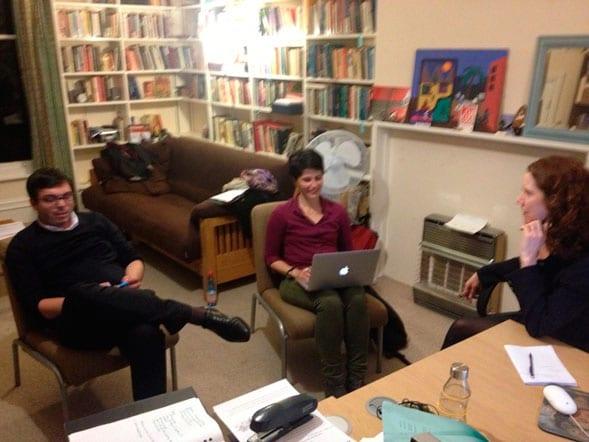 Working meeting, Latin American Centre, Oxford  University, Reino Unido