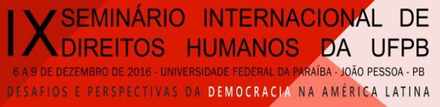 Investigador del programa de Derechos Humanos y Memoria expone en seminario de Derechos Humanos en Joao Pessoa, Brasil