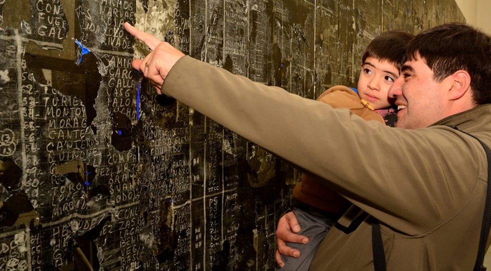 Se inaugura exhibición de la obra de arte La Sábana en Espacio Confluencia, Mendoza