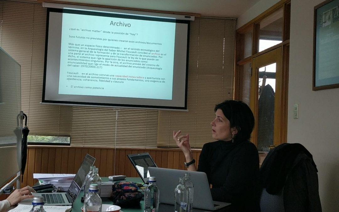 Oriana Bernasconi conversó sobre el proyecto Tecnologías Políticas de la Memoria en la Radio U. de Chile