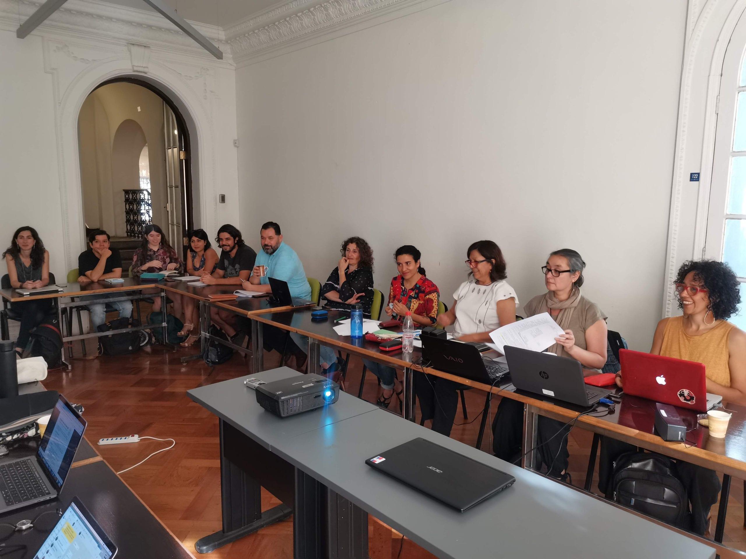 Equipo de Tecnologías Políticas de la Memoria cierra su primer año en Anillos de investigación