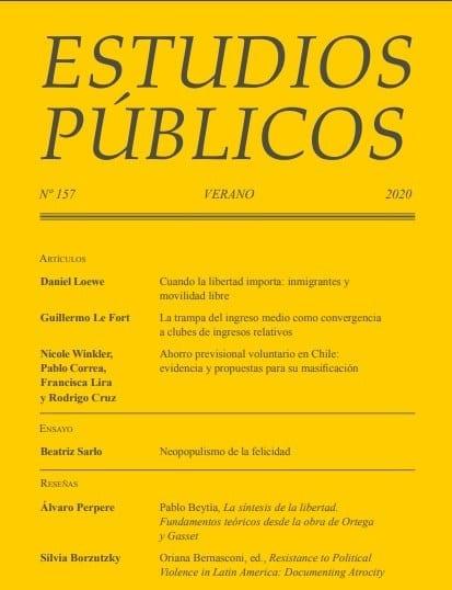 Reseña del libro «Resistance to Political Violence in Latin America: Documenting Atrocity» en la Revista de Estudios Públicos del Centro de Estudios Públicos