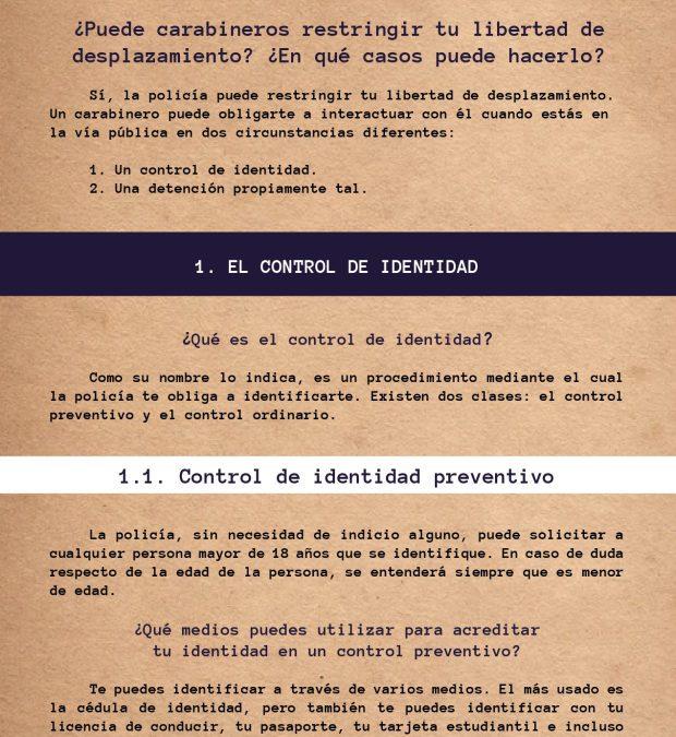 Cartilla N°2 – Control de identidad y detenciones