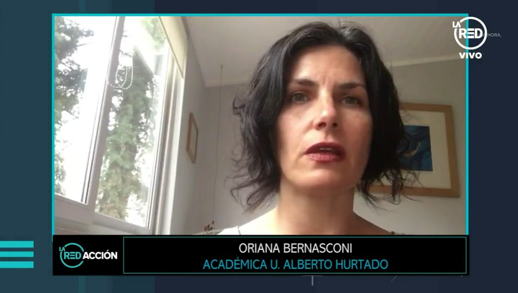 Entrevista Oriana Bernasconi en La Red TV